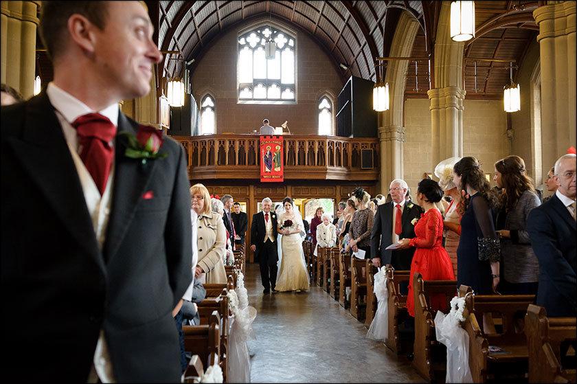 St Paul's West Derby wedding