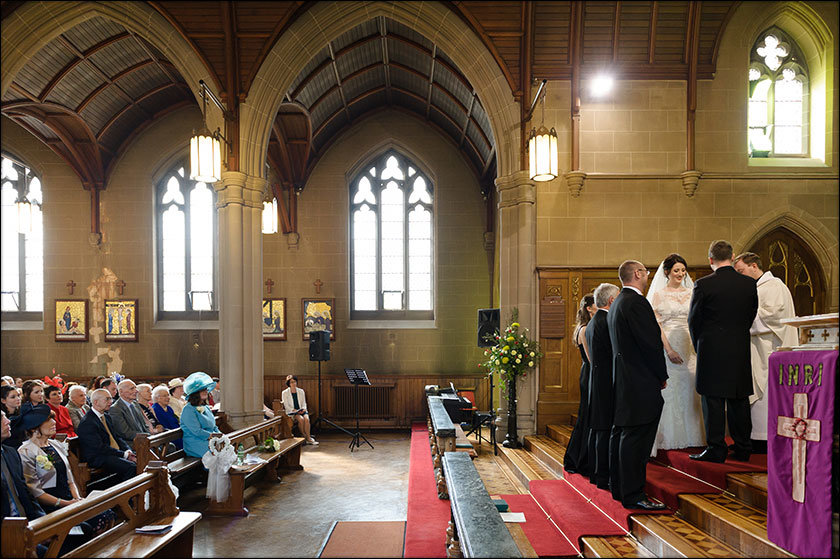 wedding at St Paul's West Derby