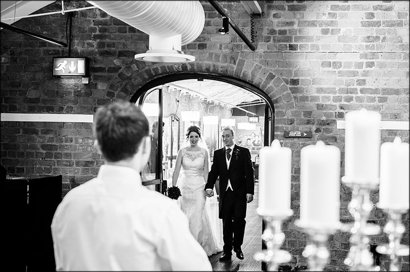 wedding at Liverpool Maritime Museum