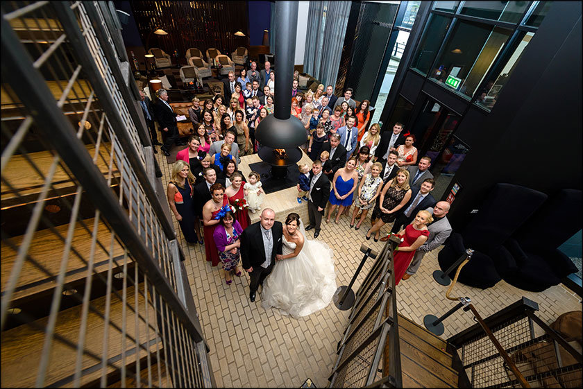 Wedding at the Malmaison Liverpool
