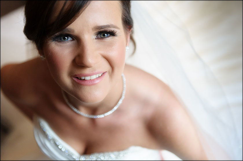 Malmaison wedding bride