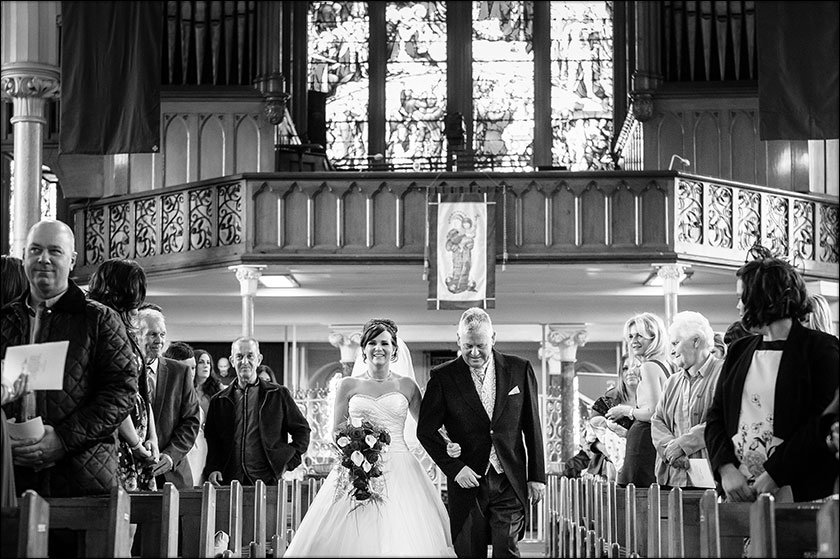 St Francis Xaviers Liverpool wedding