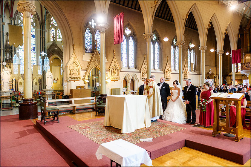 St Francis Liverpool wedding ceremony
