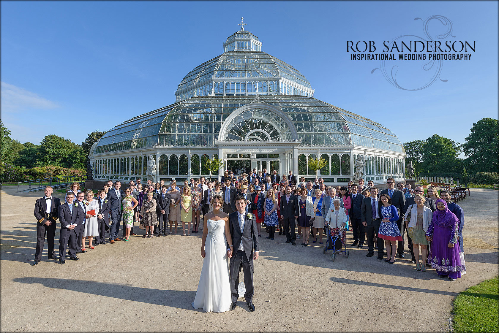 Stunning Sefton Park Palm House wedding