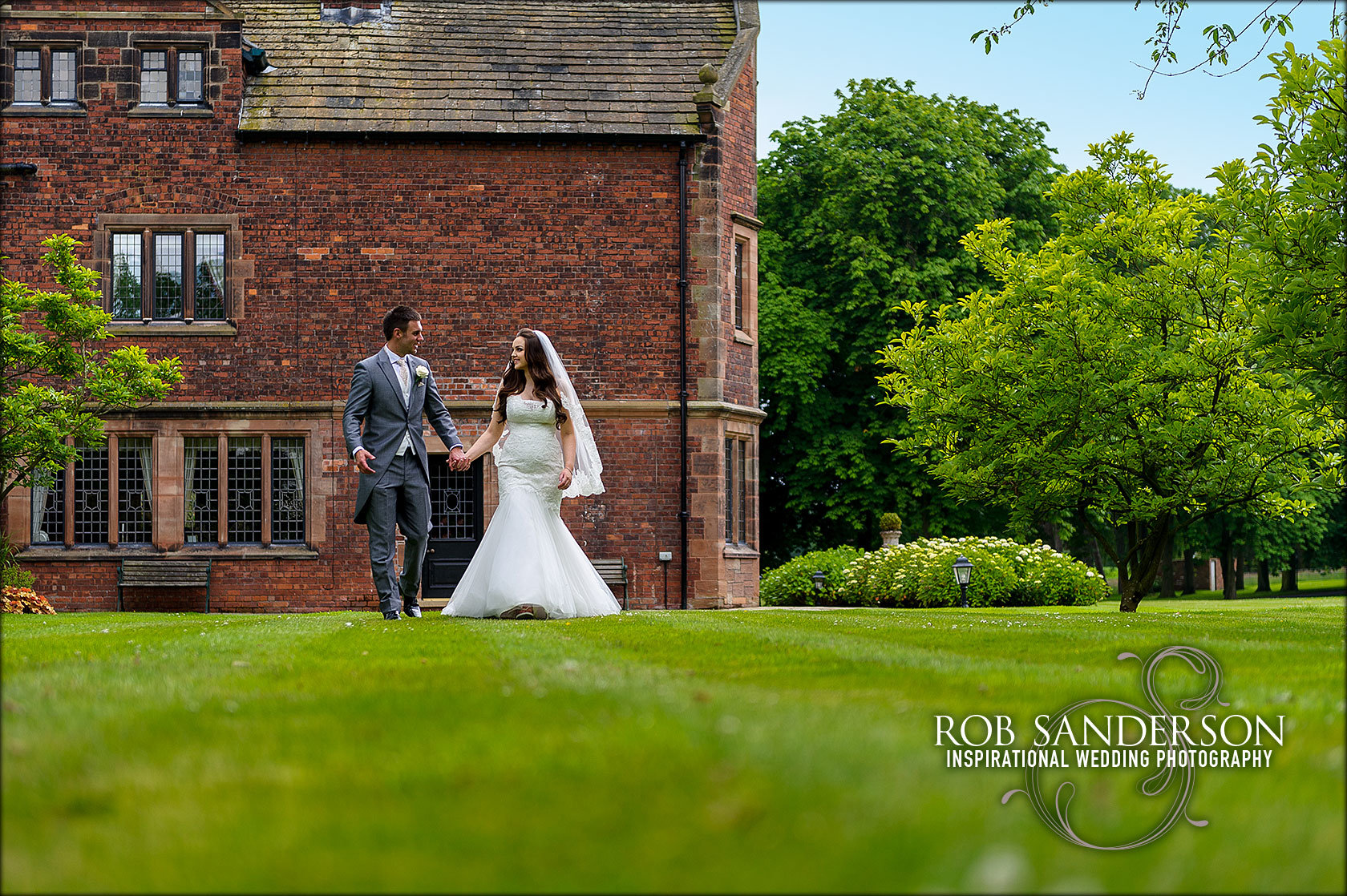 beautiful Colshaw Hall wedding photography