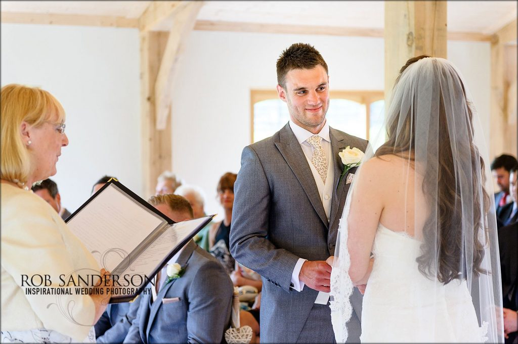 Colshaw Hall wedding ceremony