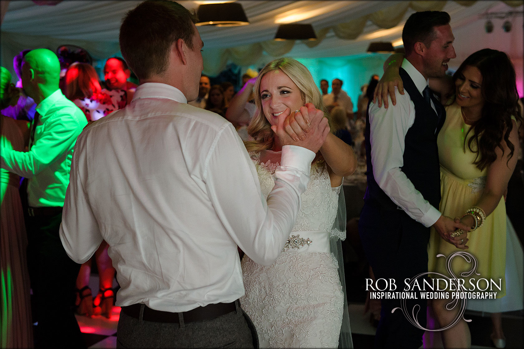 romantic first dance at Soughton Hall