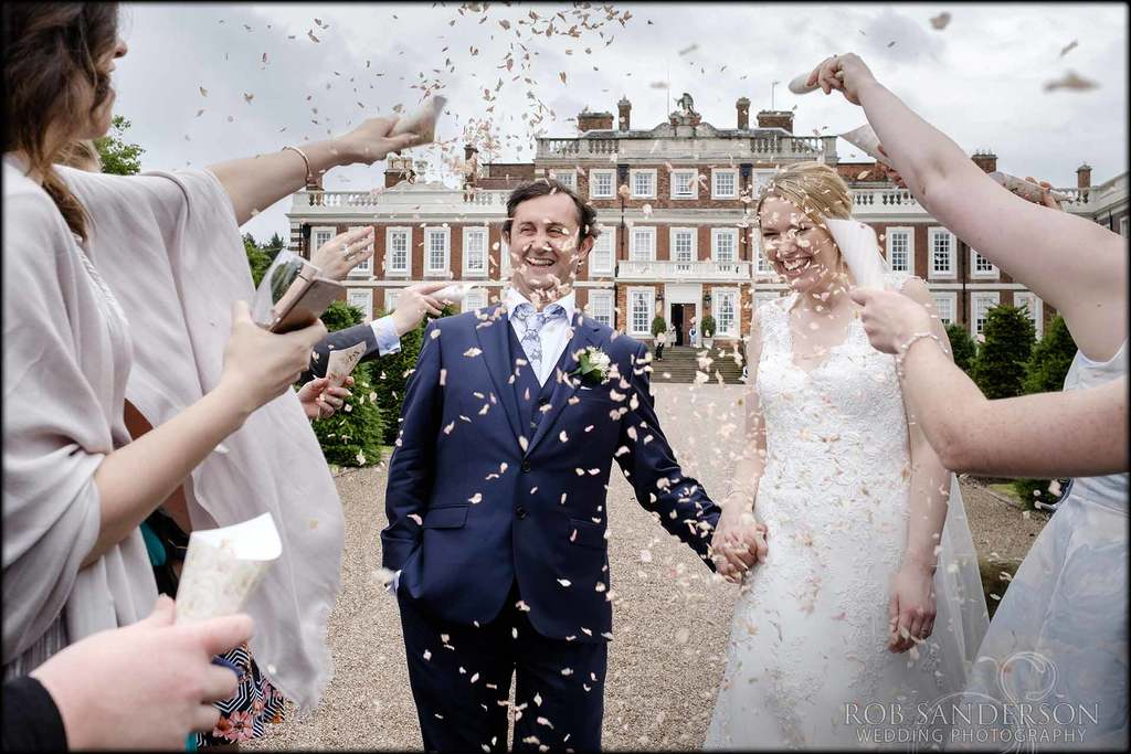 Confetti at Knowsley Hall