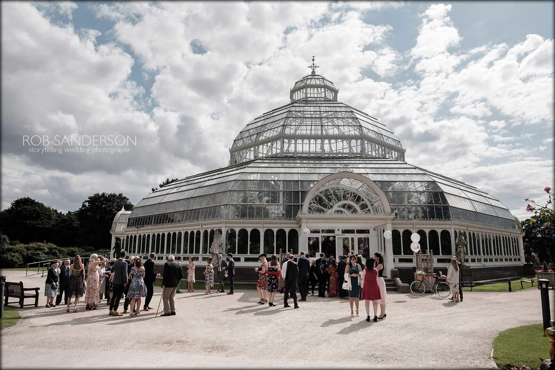 The Sefton Park Palm house