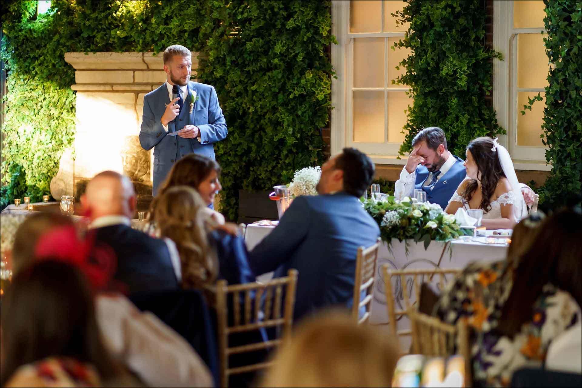 best mans speech embarrass the groom